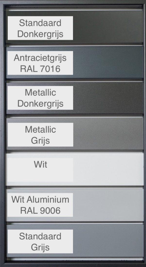 Kleuren Aluminium Ombouwkliko