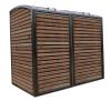 Douglas RVS Ombouw voor twee kliko's of containers