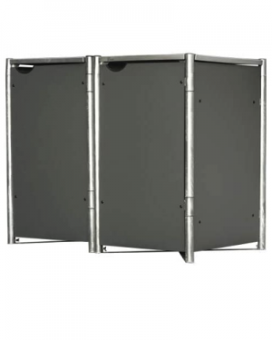 HDK2 Kunststof panelen afvalcontainer kast klikokast