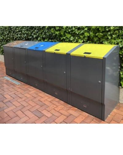 Containerbox Grijs