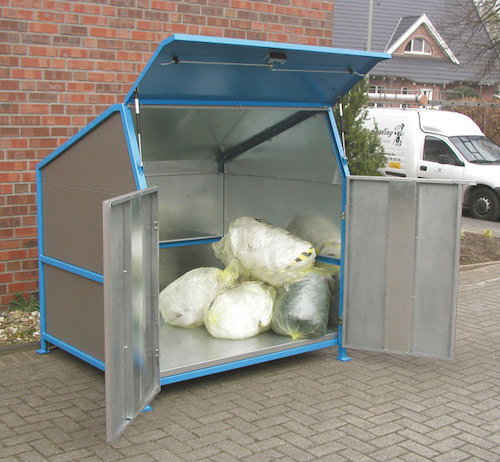 Met vloer containerbox