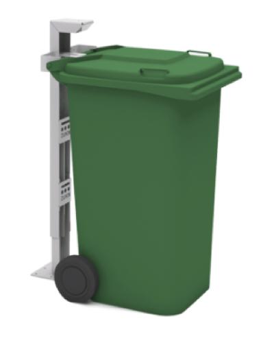 Fix Afvalcontainer Bevestiging Vastzetten