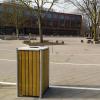 Schoolplein afval inrichting